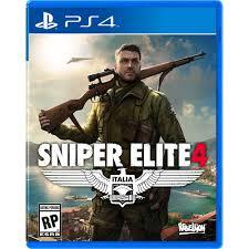 Sniper Elite 4 50$ COM PS PLUS - PSN