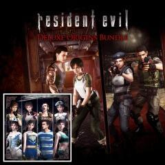 Resident Evil: Deluxe Origins Bundle (RE 1 e RE 0 Remasterizados) - PS4