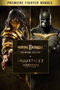 Jogo Xbox one Mortal Kombat 11 EP + Injustice 2 EL - Premier Fighter