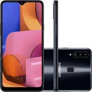 [R$728 AME+CC Shoptime] Smartphone Samsung Galaxy A20s 32GB | R$809