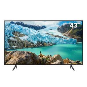 """Smart TV LED 43"""" UHD 4K Samsung 43RU7100 com Controle Remoto Único, Design Slim, Bluetooth, HDR Premium, HDMI e USB"""