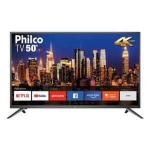 "Smart TV LED 50"" Philco PTV50M60SSG UHD 4K | R$1.699"