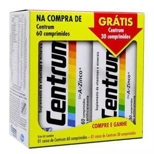 Kit Centrum c/60 - Grátis +30 Comprimidos - R$77