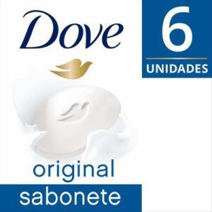 Sabonete Barra Dove Original 90g com 6 unidades