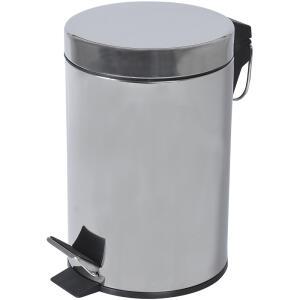 Lixeira em Aço Inox 3L Pratic Casa - R$19