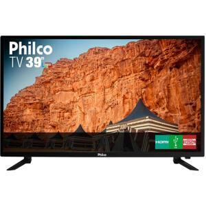 [R$782 AME] TV LED 39'' Philco PTV39N87D HD com Conversor Digital   R$869