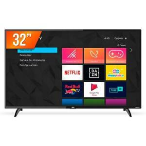 "Smart TV AOC Roku LED 32"" HD 32S5195/78G 3 HDMI 1 USB"