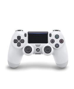 (PRIME) Controle Dualshock 4 - PlayStation 4 - Branco Glacial