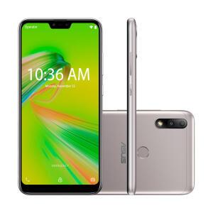 Smartphone Zenfone Max Plus M2 3GB RAM/32GB ROM - Prata