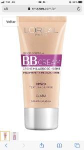 Frete prime - Bb Cream Loreal todas as cores