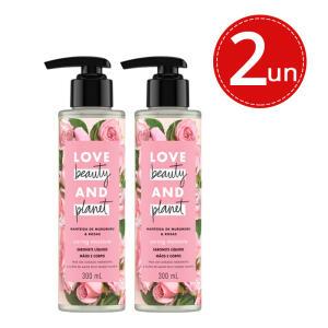 Kit Sabonete Líquido Love Beauty And Planet Manteiga de Rosas 300ml - R$19