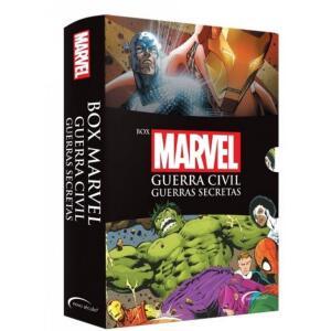 (Retirando na loja) Livro - Box Marvel Guerra Civil: Guerras secretas R$20