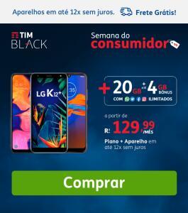 Pós pago da TIM com 20GB de internet por R$85 e desconto em smartphones