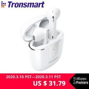 Fone de ouvido Bluetooth 5.0 Tronsmart Onyx Ace com tecnologia Qualcoom aptX
