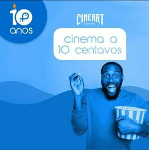 Ingresso Cineart 0,10 centavos   Peixei Urbano.