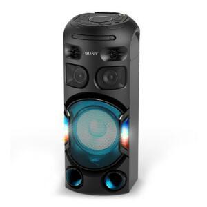 Agora com Frete Free - 500W Mini System Sony Torre de Som MHC-V42D Bluetooth MP3 USB HDMI DVD
