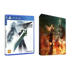 Game Final Fantasy Vii Remake + Brinde Steelbook