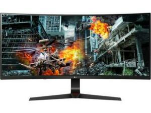 Monitor Gamer LED LG 34´ UltraWide Curvo, Full HD, IPS, 2 HDMI, DisplayPort, FreeSync, 144Hz, 1ms, Altura Ajustável - 34GL750