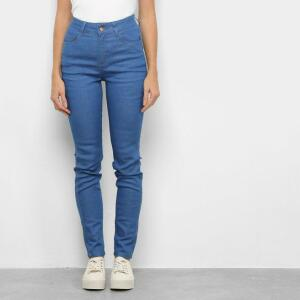 [APP]Calça Jeans Skinny Malwee Feminina - Azul