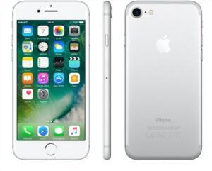 "iPhone 7 Apple 32GB Prateado 4G Tela 4.7"" Retina-Câm. 12MP + Selfie 7MP iOS 10 Proc. Chip A10 - R$1529"