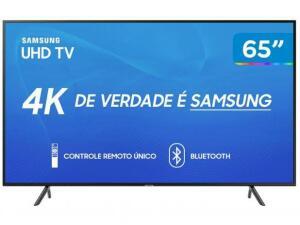 Smart TV Samsung UHD 4K RU7100 65 Polegadas - Preto R$2.746
