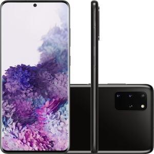 (CARTÃO SUB+AME=R$4599,15) Smartphone Samsung Galaxy S20+ Cosmic Black