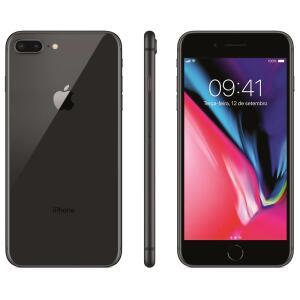 "iPhone 8 Apple Plus com 64GB, Tela Retina HD de 5,5"" R$ 2879"