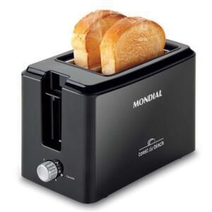Torradeira Toast Due Black Mondial T-05 - R$46