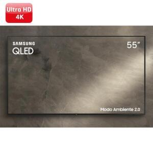 Smart TV Samsung 55q60   R$ 2999