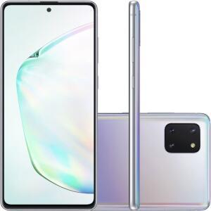 """(APP) Smartphone Samsung Note 10 Lite Android Tela Infinita 6.7"""" Octa-Core 2.7 128GB 4GB 12MP+12MP+3MP"""