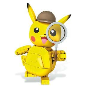 Pokémon Detetive Pikachú Construível, 271 pçs, Mattel