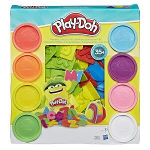 [Prime] Conjunto De Massinha Play-Doh Letras E Números, R$ 35