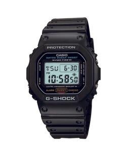 relógio digital casio g-shock masculino - dw5600e1vdfu preto - único