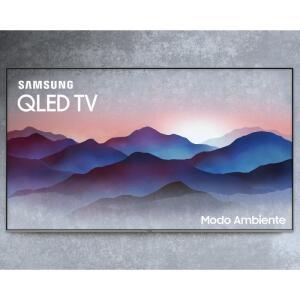 "Smart TV Samsung QLED UHD 4K 55"" QN55Q6FNAGXZD com Modo Ambiente Tela de Pontos Quânticos"