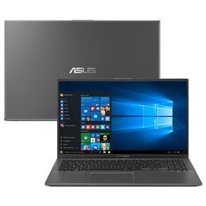 "Notebook Asus Core i5-8265U 8GB 1TB Tela 15.6"" Windows 10 VivoBook X512FA-BR568T"