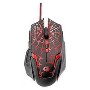 [PRIME] Mouse Gamer USB 3200DPI Spider 2, Fortrek, Mouses, Preta/Vermelho R$29
