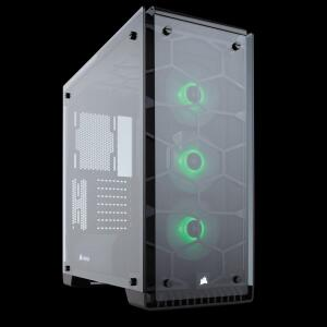 Gabinete Gamer Corsair Crystal 570X RGB   R$599