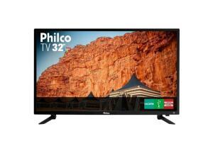 TV Philco 32 Polegadas Led HD PTV32C30D Preta Bivolt - R$646
