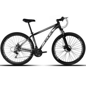 Bicicleta Aro 29 GTA NX9 21 Marchas Freio a Disco Suspensão Dianteira