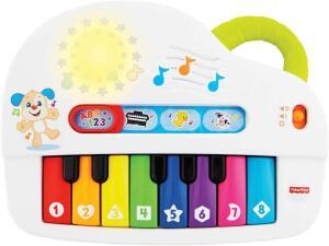 [Prime] Piano Cachorrinho, Aprender e Brincar, Fisher Price, Mattel R$ 85