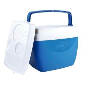 [Primeira Compra] Caixa Termica 12 Litros Azul Mor
