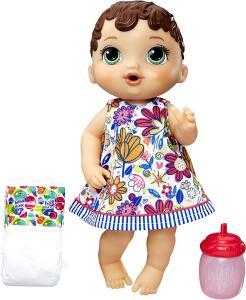 [Prime] Boneca Baby Alive Hora do Xixi Hasbro Morena R$ 55