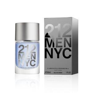 Perfume Masculino 212 Men Carolina Herrera Eau de Toilette 30ml. FRETE GRÁTIS