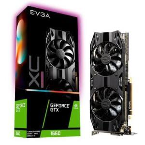 Placa de Vídeo EVGA NVIDIA GeForce GTX 1660 XC Ultra Gaming 6GB - R$1.190