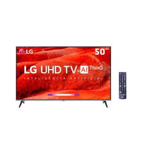 "Smart TV LED 50"" UHD 4K LG | R$1889"