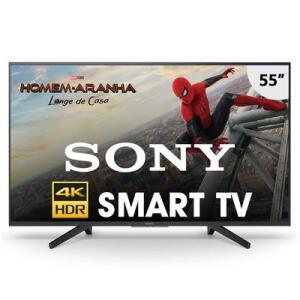 "Smart TV LED 55"" UHD 4K Sony KD-55X705F | R$2.199"
