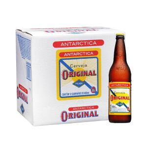 Cerveja Antarctica Original 600ml Caixa (12 Unidades)