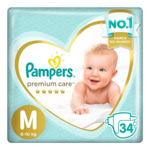 Fralda Pampers Premium Care P a XXG por R$ 29