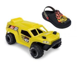 Sandália Infantil Grendene Kids + Hot Wheels Monster Truck | R$70