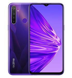 Smartphone Realme 5-128GB e 4GB RAM - Versão Global - Crystal Purple R$1.450